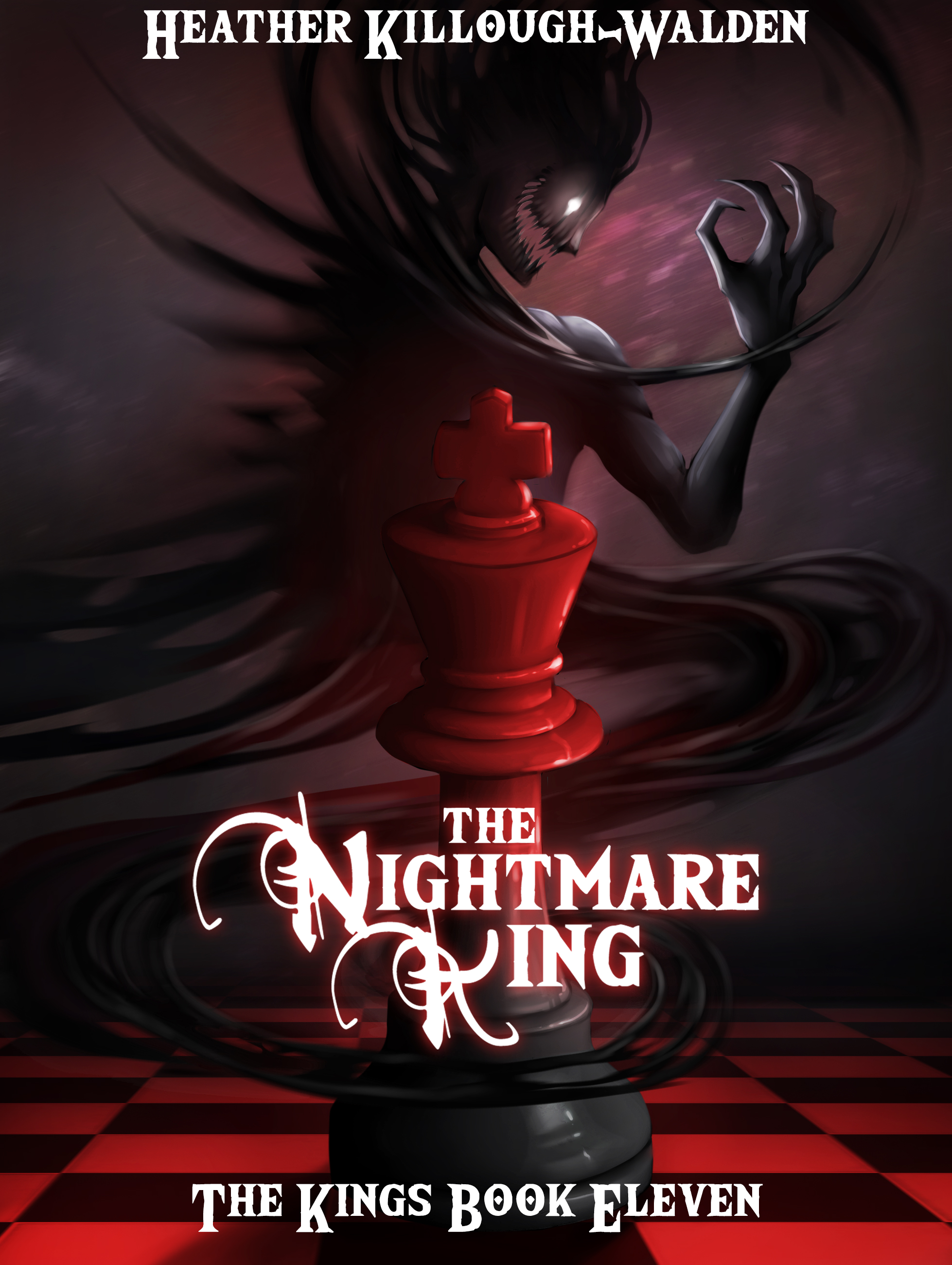 Heathers blog a writer never has a vacation for a writer life the nightmare king coverg fandeluxe Ebook collections